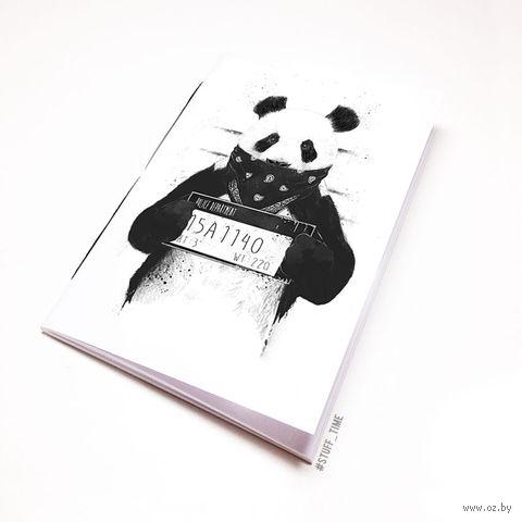 """Блокнот белый """"Панда"""" А6 (510)"""