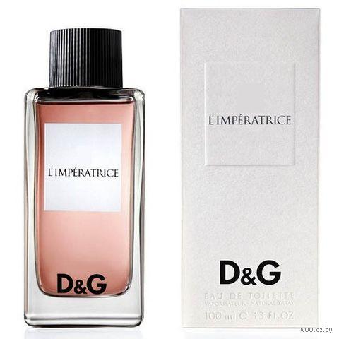 "Туалетная вода для женщин Dolce & Gabbana ""№3 L`Imperatrice"" (100 мл) — фото, картинка"