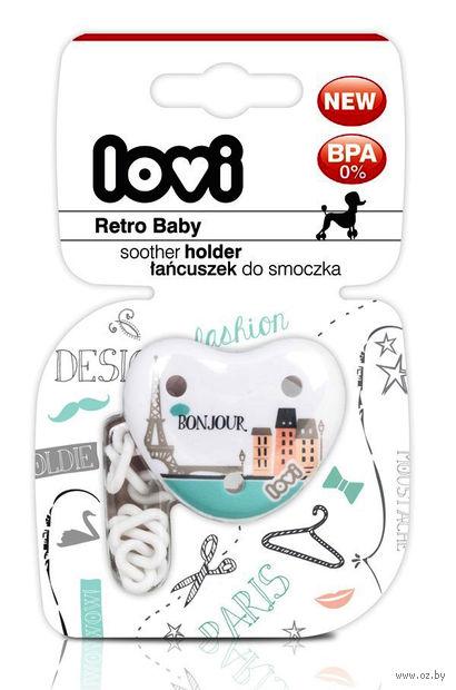 """Прищепка для пустышки """"Retro Baby"""" (арт. 10/881) — фото, картинка"""