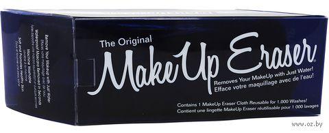 """Материя для снятия макияжа """"Темно-синяя"""" (1 шт.) — фото, картинка"""
