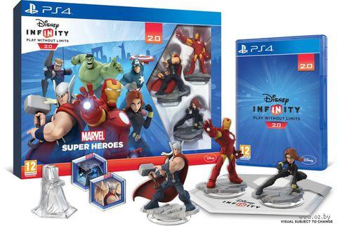 Disney. Infinity 2.0. Стартовый набор (Marvel) (PS4)