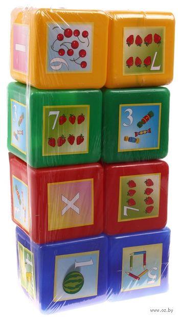 "Кубики ""Математика"" (8 шт)"