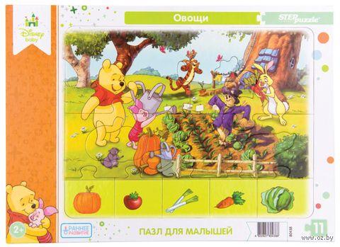 """Пазл-рамка """"Овощи"""" (11 элементов) — фото, картинка"""
