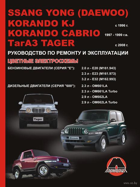 SsangYong Korando KJ / SsangYong Korando Cabrio / ТАGАZ Tager с 1996 г. Руководство по ремонту и эксплуатации — фото, картинка