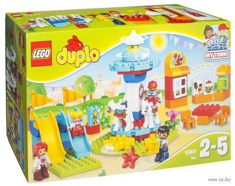 """LEGO Duplo """"Семейный парк аттракционов"""" — фото, картинка"""