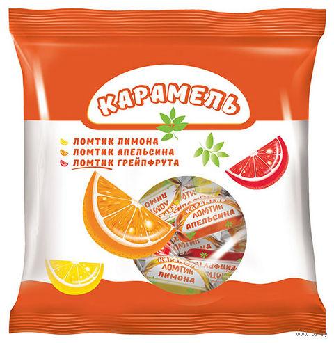 "Карамель леденцовая ""Ломтик"" (180 г; грейпфрут, апельсин и лимон) — фото, картинка"