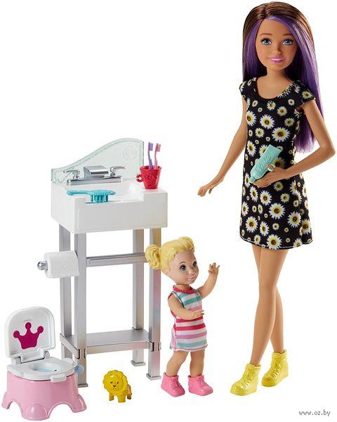 "Игровой набор ""Барби. Нянечка"" (арт. FJB01) — фото, картинка"