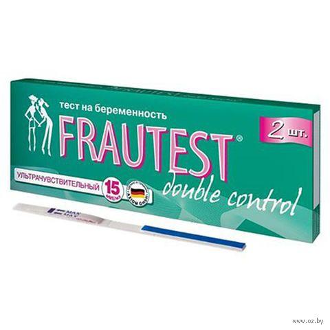 "Тест на беременность ""Double control №2"" (2 шт.) — фото, картинка"
