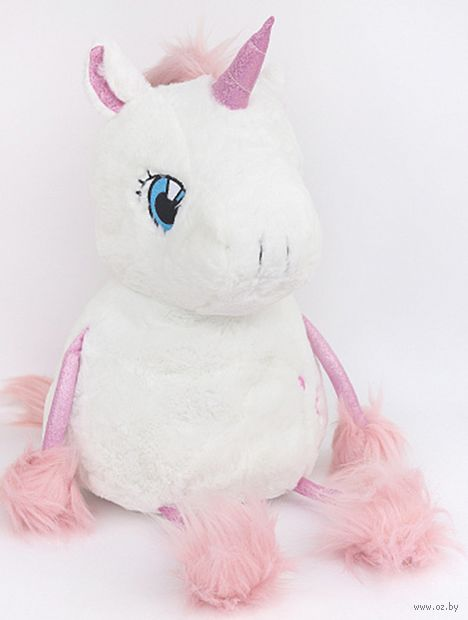 """Мягкая игрушка """"Fluffy Unicorn"""" (40 см) — фото, картинка"""