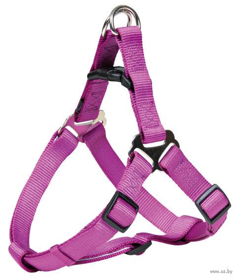 """Шлея для собак """"Premium Harness"""" (размер S; 40-50 см; ягодный)"""