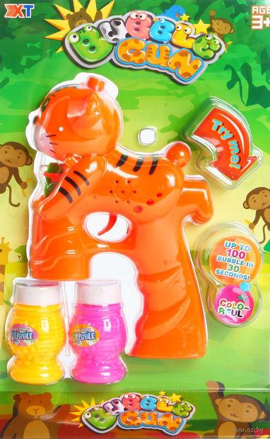 """Игрушка для выдувания мыльных пузырей """"Тигр"""""""