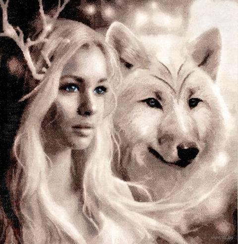 """Вышивка крестом """"Волчицы"""""""