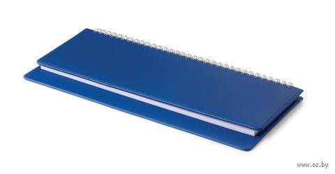 """Планинг недатированный """"Velvet"""" (305х130 мм; синий) — фото, картинка"""