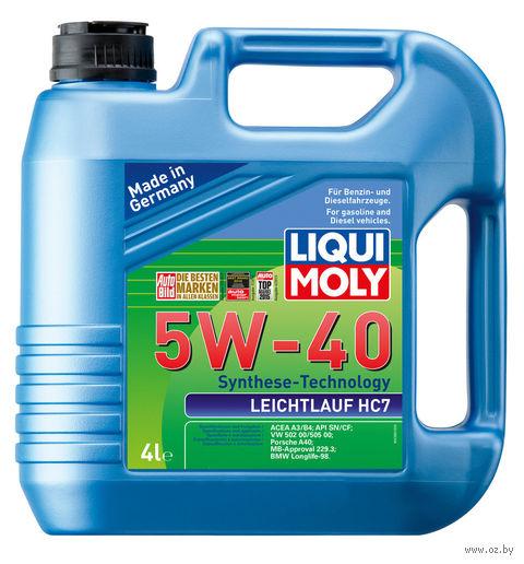 "Масло моторное ""Leichtlauf HC7"" 5W-40 (4 л) — фото, картинка"
