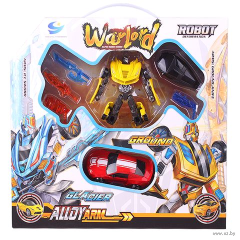 """Робот-трансформер """"War Lord"""" (арт. DV-T-374) — фото, картинка"""