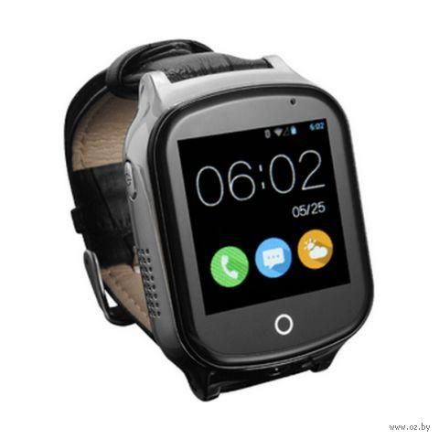 Часы SmartBabyWatch T100 (черные) — фото, картинка