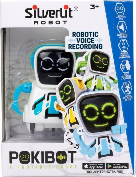 """Робот """"Pokibot"""" (синий; со световыми и звуковыми эффектами) — фото, картинка"""