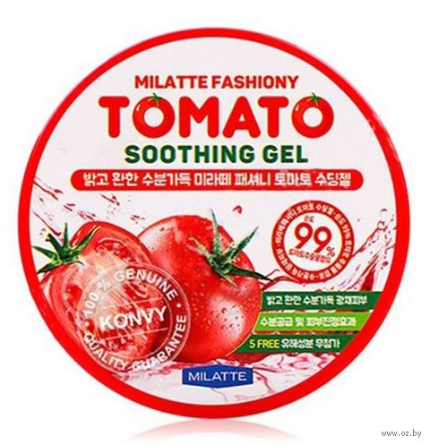 "Гель для тела ""Fashiony Tomato Soothing Gel. С томатом"" (300 мл) — фото, картинка"