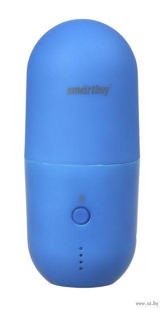 Внешний аккумулятор (Power bank) SmartBuy CAPSULE MKII, синий (SBPB-7030)