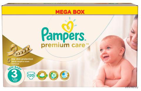 """Подгузник """"Pampers Premium Care Midi"""" (5-9 кг, 120 шт)"""