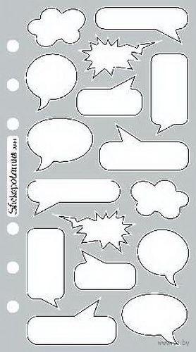 """Стикеры для скрапбукинга """"Стико. Речь"""" (арт. EKS-SPBU01)"""
