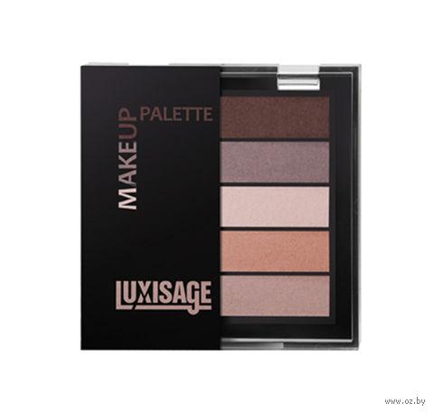 """Тени для век """"Make up palette"""" (тон: 5, шоколадный десерт)"""