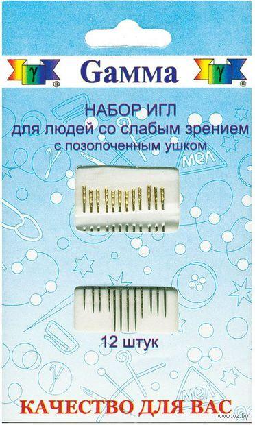 Иглы для шитья (12 шт.; арт. HN-07) — фото, картинка