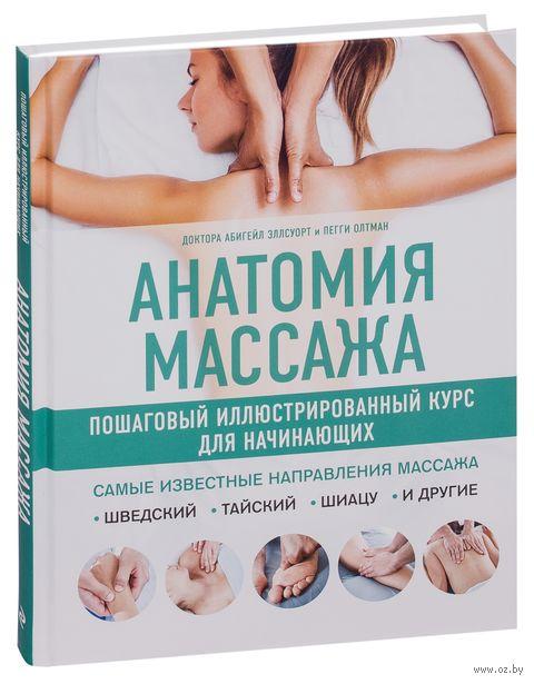 Анатомия массажа. Пошаговый иллюстрированный курс для начинающих — фото, картинка
