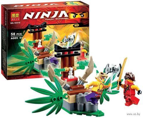 """Конструктор """"Ninja. Ловушка в джунглях"""" (58 деталей) — фото, картинка"""