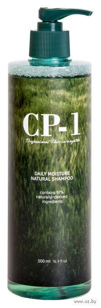 """Шампунь для волос """"Daily Moisture Natural Shampoo"""" (500 мл) — фото, картинка"""