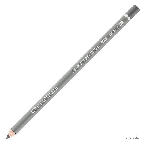 Карандаш чернографитный акварельный (4В)