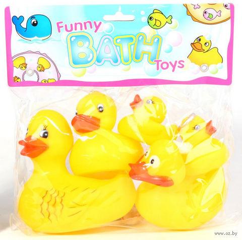"""Набор игрушек для купания """"Утки"""" (5 шт)"""
