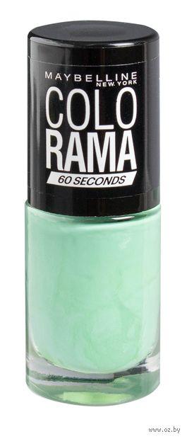 """Лак для ногтей """"Colorama"""" (тон 214, светло-зеленый; 7 мл)"""