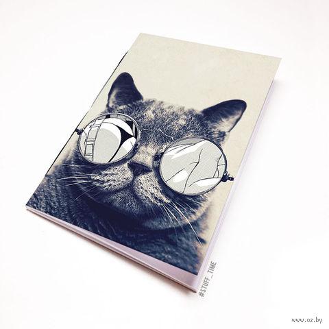 """Блокнот белый """"Кот"""" А5 (812)"""