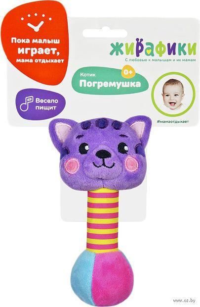 """Мягкая игрушка-пищалка """"Котик"""" — фото, картинка"""