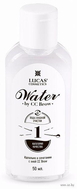 """Вода для разведения хны """"CC Brow Water"""" (50 мл) — фото, картинка"""