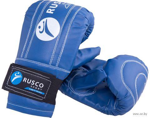 Перчатки снарядные (S; синие) — фото, картинка