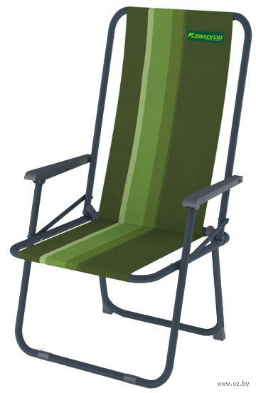 """Кресло складное """"K302"""" (зелёное) — фото, картинка"""