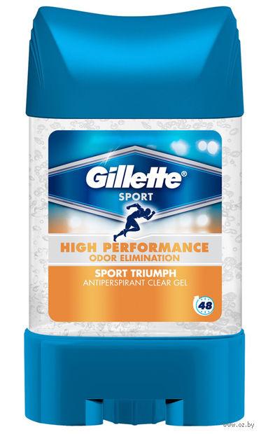 Дезодорант-антиперспирант для мужчин Gillette Triumph Sport (гель, 75 мл)