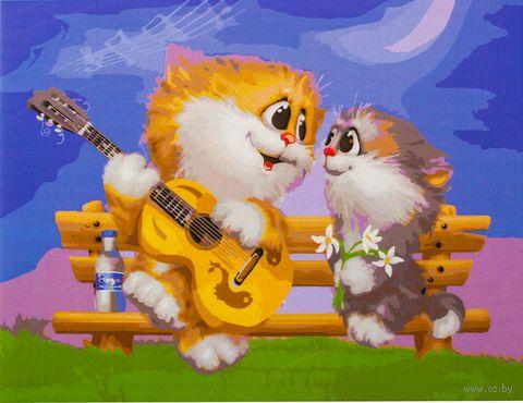 "Картина по номерам ""Песни под гитару"" (300х400 мм)"