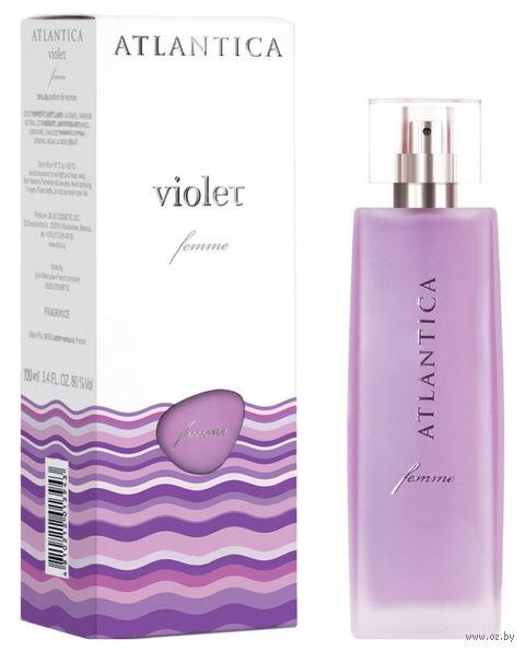 """Парфюмерная вода для женщин """"Atlantica femme. Violet"""" (100 мл)"""