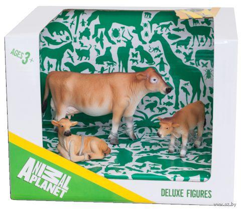"""Набор фигурок """"Animal Planet: Джерсийские коровы"""" (3 шт.)"""