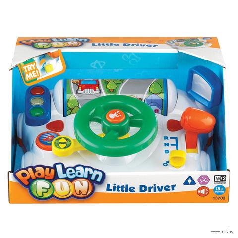 """Развивающая игрушка """"Маленький водитель"""" (со световыми эффектами)"""