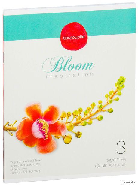 """Тетрадь в клетку 40 листов """"Цветы. Bloom Inspiration"""""""