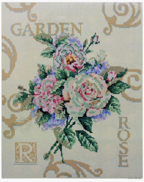 """Алмазная вышивка-мозаика """"Розы"""" (400x500 мм) — фото, картинка"""