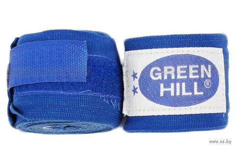 Бинт боксёрский BP-6232a (2,5 м; эластик; синий) — фото, картинка