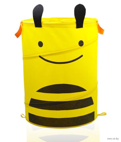"Корзина для игрушек ""Пчелка"" — фото, картинка"