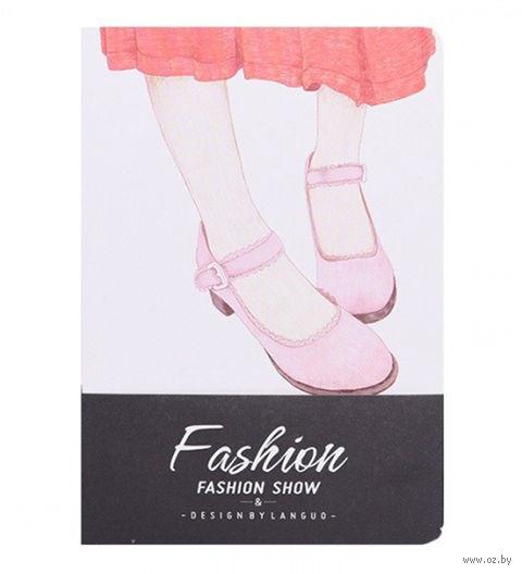 """Блокнот """"Fashion Show. Туфли"""" (A6) — фото, картинка"""