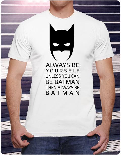 """Футболка мужская """"Бэтмен"""" (размер 50; арт. 1) — фото, картинка"""