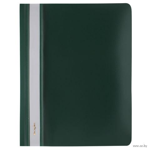 """Папка-скоросшиватель """"Darvish"""" (А5; зеленая; арт. DV-205) — фото, картинка"""